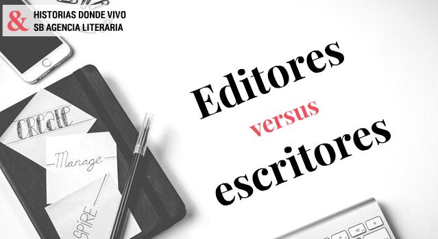Editores versus escritores